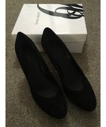 "Womens Nine West Black Suede 3.5"" Heels Size 11M W/ Box 60274380-169 - $49.99"