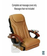 CAPPUCCINO Massage complete back seat cushion upholstery cover pedicure ... - $167.30