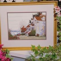 Gentle Breeze Cross Stitch Leaflet Book Color Charts 1992 Burton Dye House Lake  - $22.99