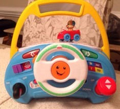 Fisher Price Laugh & Learn Puppy's Smart Stages Driver - GREAT SHAPE, CMW46 - $23.75