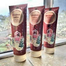 Bath & Body Works CHRISTMAS COOKIES Ultra Shea Body Cream  8 oz. x 3 - $29.69