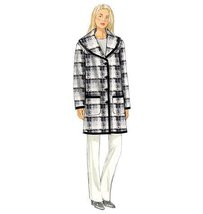 Butterick Patterns B6107 Misses' Coat, Size ZZ - $14.70