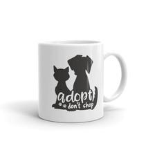 New Mug - Adopt don't shop Dog Cat Puppy Kitten Kitty Pet Animal Mug - £8.52 GBP+