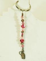 Handmade Artisan Keychain for Women Golfers, St... - $16.00