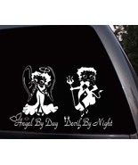 Betty Boop Angel & Devil Girl Car Window Truck Vinyl Decal Sticker  - $8.99