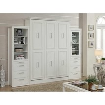 Allegra Queen Wall Bed with 2 Storage Cabinets - £2,582.78 GBP