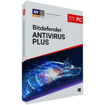 Bitdefender Antivirus Plus 2019 3 Pcs/1 Year Login Activation Global Reg... - $25.00