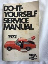 1972 Chevrolet Vega Original Owners Manual, not a reprint. - $19.75
