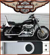 2006 Harley Davidson Sportster XLH Service Repair & Electrical Manual USB Drive - $18.00