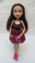 Bratz Doll Brown Hair with Magenta Highlights - $9.49
