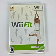 Nintendo Wii Fit 2008 Game with Case and Booklet  - $7.69