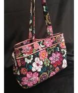 Vera Bradley Mod Floral Pink (retired) Tote / Shoulder Bag, EUC - $47.04