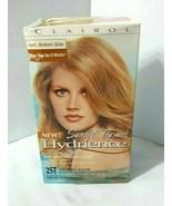 CLAIROL HYDRIENCE Deep Moisturizing Color Creme 2ST Sunlit Topaz Gold Gl... - $34.60