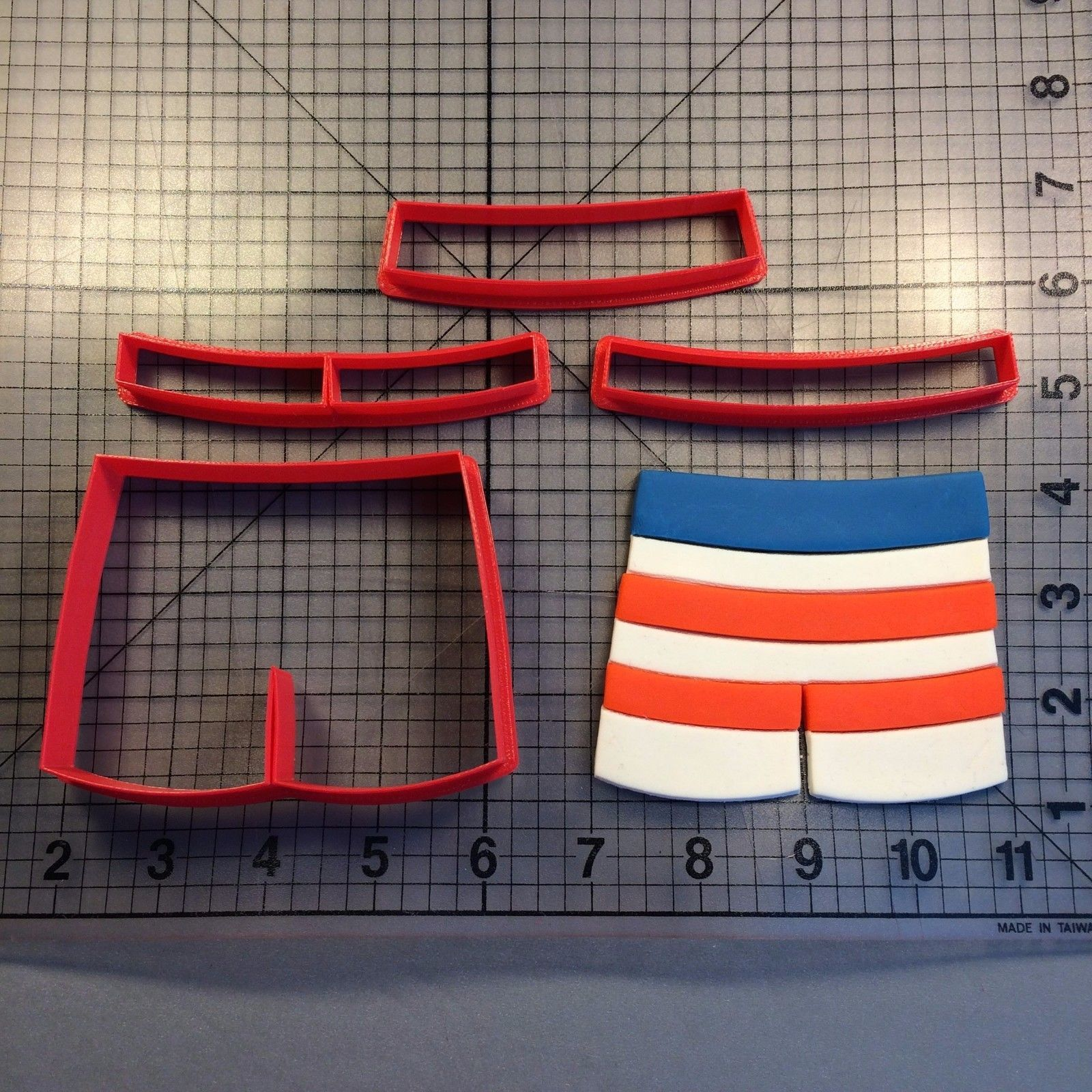 Primary image for Swimming Trunks 100 Cookie Cutter Set