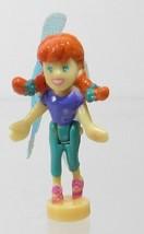 2001 Vintage Polly Pocket Doll Fairy Flying School - Fairy Lea Mattel Toys - $6.00