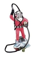Action Air Diver with Hose Live-Action Aerating Aquarium Ornament - Colo... - $19.79