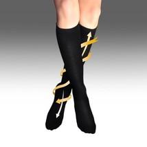 Nylon Flight Socks Anti Embolism Compression Small -MEDIUM Large - $7.97