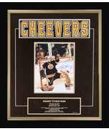 Gerry Cheevers Career Collectible Namebar Ltd Ed #1 of 130 - Museum Framed - $555.00