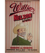 Mint Willie Nelson Fillmore Poster May 3 2017 - $39.99