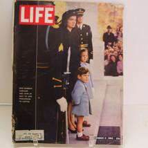 1963 Life Magazine John F Kennedy Funeral Procession Dec 6 Jackie Caroli... - $24.99