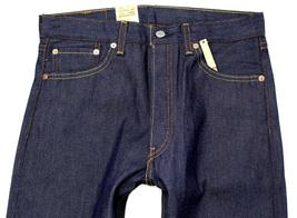 Levi's 501 Men's Original Straight Leg Jeans Button Fly Blue 501-1000 image 4