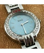 Citizen Eco Drive Watch Womens Silver Tone Mother of Pearl Face Diamond ... - $71.24