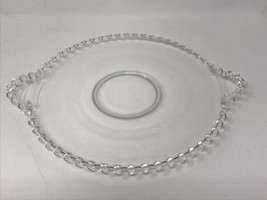 """Candlewick by Imperial Round Plate Tray w/Handles 400/72D 10"""" (#18-1397A) - $19.00"""
