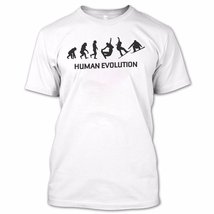 Human Evolution T Shirt, Growth Shirt, Funny Shirt - $9.99+
