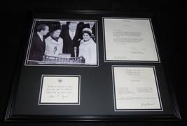 Spiro & Judy Agnew 16x20 Framed 1973 Spaghetti Sauce Recipe & Photo Display - $123.74