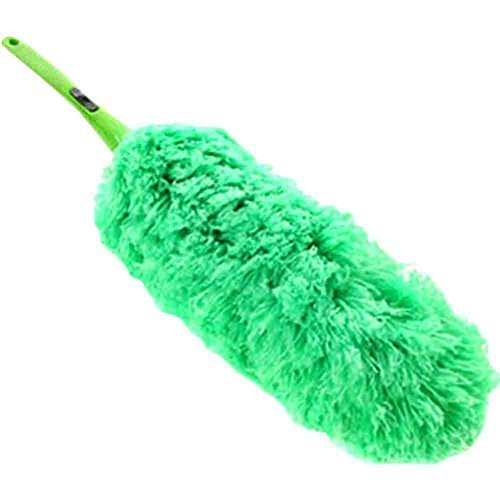 PANDA SUPERSTORE Colorful Detachable Car Duster Brush Cleaning Brush(Green)