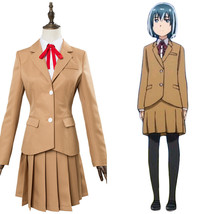 Hinamatsuri Hina Yoshifumi Cosplay Costume School Uniform Dress Suit - $75.00+