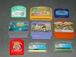 Lot of Various Learning Game Cartridges LeapFrog Vsmile Fisher Price + More - $10.00