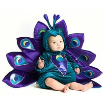 Baby Peacock Halloween Costume Size 18 Months or 2T Complete Outfit - £27.34 GBP