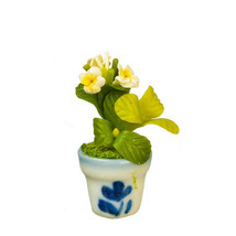 DOLLHOUSE MINIATURES PUMERIA IN POT #G7583 - $9.50