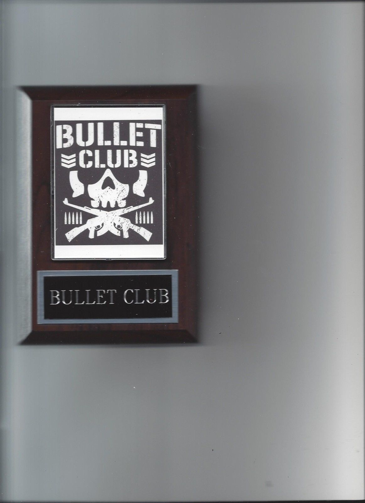 BULLET CLUB PLAQUE BC NEW JAPAN PRO WRESTLING NJPW