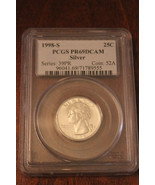 1998-S 25C Silver (Proof) Washington Quarter - $18.69