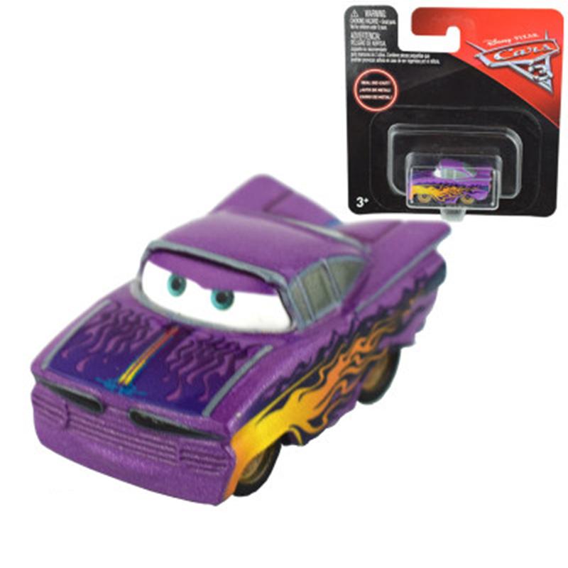Ey pixar cars cars 3 toys mini lighting mcqueen black jackson storm diecast  metal alloy birthday d66a349812d1
