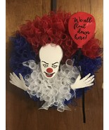 Penny Wise SCARY Halloween Wreath - $40.00