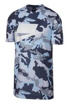 Nike Sportswear Nsw Mesh Tee Thunder Blue Cobalt 928627 471US Mens Sz M - $48.99