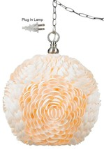 "Seashell Swag Lamp 11.5""Wx13.5""H - $399.99"