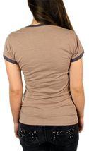 Levi's Women's Premium Classic Graphic Cotton T-Shirt Shirt Tee Brown image 4