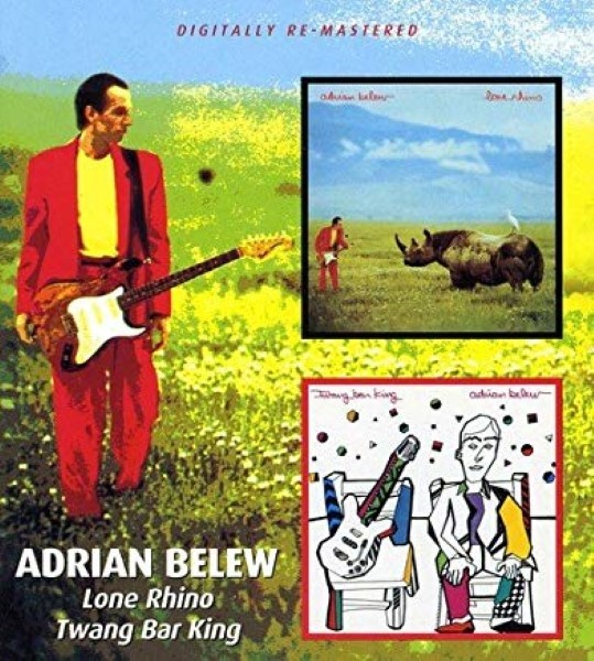 lone Rhino by  Adrian Belew  Cd