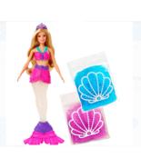 Barbie Dreamtopia Kid's Glitter Slime Mermaid Doll - NEW IN DAMAGED BOX - $22.76