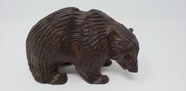 Wood Bear Carving Ainu Higuma - $24.74