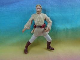 2001 Hasbro Star Wars Obi-Wan Kenobi Coruscant Chase Action Figure  - $2.92