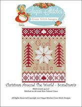 Scandinavia: Christmas Around the World series cross stitch chart Sugar Stitches - $6.00