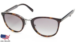 New Prada Spr 22S 2AU-3M1 Havana /GREY Grad Lens Sunglasses 52-23-145 B43 Italy - $212.83