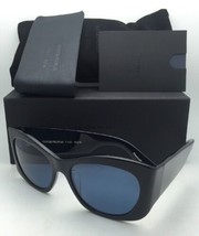 OLIVER PEOPLES The ROW Sunglasses BOTHER ME 5333SU 100580 Black w/ Blue ... - $399.99