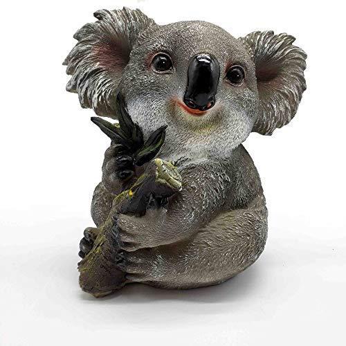 Gnome In Garden: Handcraftsman Cute Pet Koala's Family Garden Gnome Statue