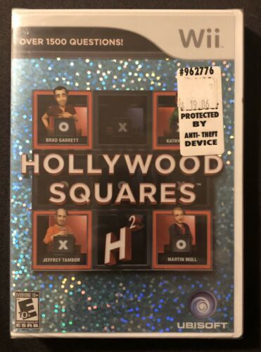 Primary image for Hollywood Squares (Nintendo Wii, 2010) SEALED